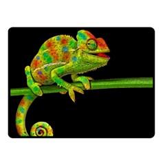 Chameleons Double Sided Fleece Blanket (Small)