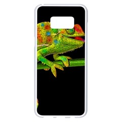 Chameleons Samsung Galaxy S8 Plus White Seamless Case