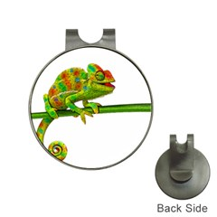 Chameleons Hat Clips with Golf Markers
