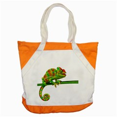 Chameleons Accent Tote Bag