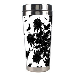 Black roses and ravens  Stainless Steel Travel Tumblers