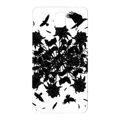 Black roses and ravens  Samsung Galaxy Note 3 N9005 Hardshell Back Case