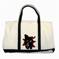 Slash Two Tone Tote Bag