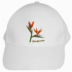 Bird Of Paradise White Cap