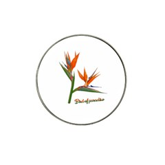 Bird Of Paradise Hat Clip Ball Marker (10 pack)