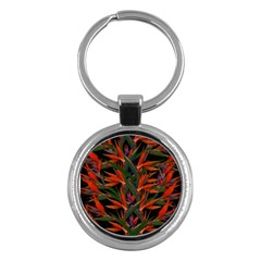 Bird Of Paradise Key Chains (Round)