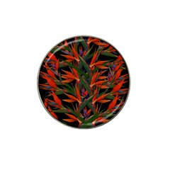 Bird Of Paradise Hat Clip Ball Marker (4 pack)