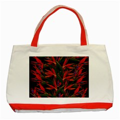 Bird Of Paradise Classic Tote Bag (Red)
