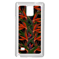 Bird Of Paradise Samsung Galaxy Note 4 Case (white)