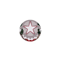 Emblem of Italy 1  Mini Buttons