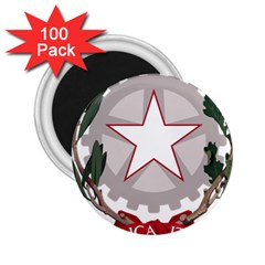 Emblem of Italy 2.25  Magnets (100 pack)