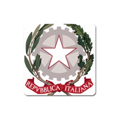 Emblem of Italy Square Magnet