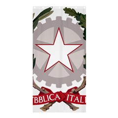 Emblem of Italy Shower Curtain 36  x 72  (Stall)