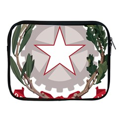 Emblem of Italy Apple iPad 2/3/4 Zipper Cases