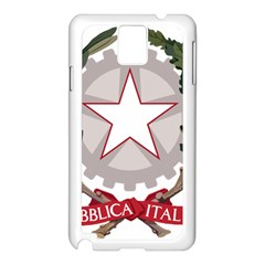 Emblem of Italy Samsung Galaxy Note 3 N9005 Case (White)