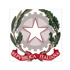 Emblem of Italy Small Satin Scarf (Square)