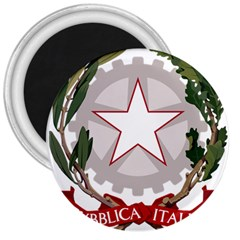 Emblem of Italy 3  Magnets