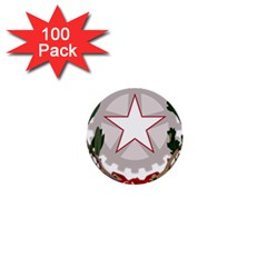 Emblem of Italy 1  Mini Buttons (100 pack)