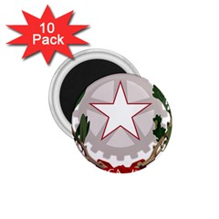 Emblem of Italy 1.75  Magnets (10 pack)