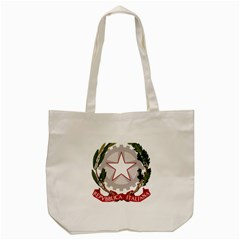 Emblem of Italy Tote Bag (Cream)