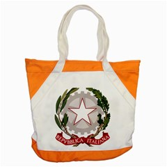 Emblem of Italy Accent Tote Bag