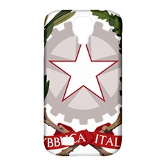 Emblem of Italy Samsung Galaxy S4 Classic Hardshell Case (PC+Silicone)