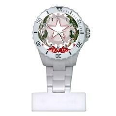 Emblem of Italy Plastic Nurses Watch
