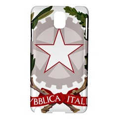 Emblem of Italy Samsung Galaxy Note 3 N9005 Hardshell Case