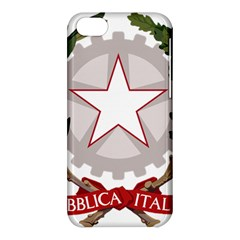 Emblem of Italy Apple iPhone 5C Hardshell Case