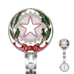 Emblem of Italy Stainless Steel Nurses Watch