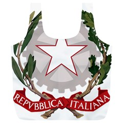 Emblem of Italy Full Print Recycle Bags (L)