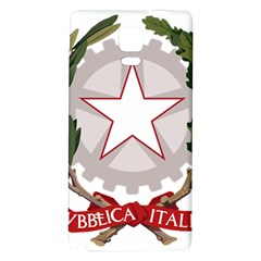 Emblem of Italy Galaxy Note 4 Back Case