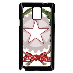 Emblem of Italy Samsung Galaxy Note 4 Case (Black)