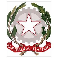 Emblem of Italy Drawstring Bag (Small)