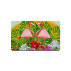 Flamingo Magnet (Name Card)