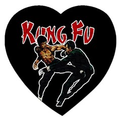 Kung Fu  Jigsaw Puzzle (Heart)