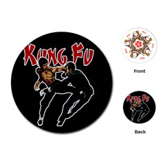 Kung Fu  Playing Cards (Round)