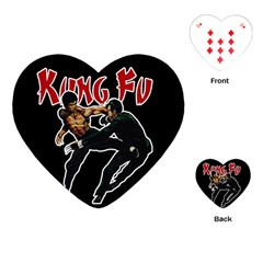 Kung Fu  Playing Cards (Heart)