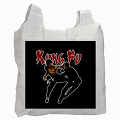 Kung Fu  Recycle Bag (one Side)