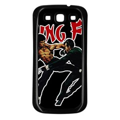 Kung Fu  Samsung Galaxy S3 Back Case (Black)