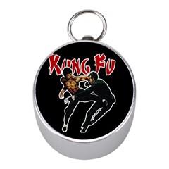 Kung Fu  Mini Silver Compasses