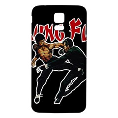 Kung Fu  Samsung Galaxy S5 Back Case (White)
