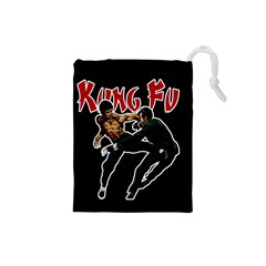 Kung Fu  Drawstring Pouches (Small)