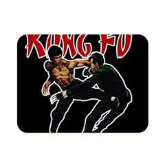 Kung Fu  Double Sided Flano Blanket (Mini)