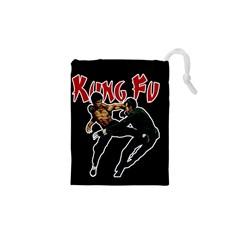 Kung Fu  Drawstring Pouches (XS)