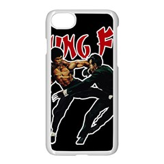 Kung Fu  Apple iPhone 7 Seamless Case (White)