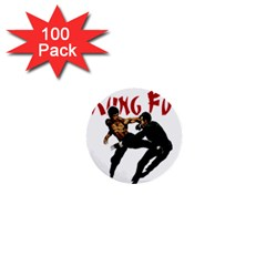 Kung Fu  1  Mini Buttons (100 pack)