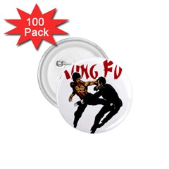Kung Fu  1.75  Buttons (100 pack)