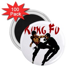 Kung Fu  2.25  Magnets (100 pack)