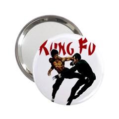 Kung Fu  2.25  Handbag Mirrors